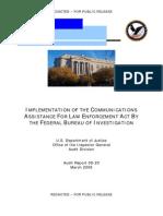 Documento mal censurado pelo Departamento de Justiça dos EUA