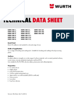 anchor mass data sheet
