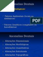 Aula Anomalias Dentárias