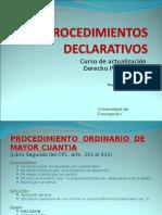 procedimientos declarativos