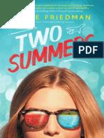 Two Summers (Excerpt)