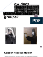 Q2) How Does Your Media Product Represent Particular Social Groups?