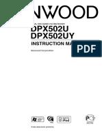 Manual Kenwood DPX502U_(EN)