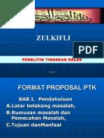 Ptk Proposal
