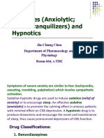 Sedatives (Anxiolytic; minor tranquilizers) and Hypnotics