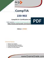 ExamsGrade 220-902 Training Material