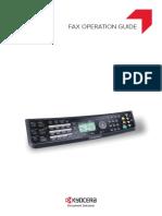 ECOSYS M6526cdn Fax Setup