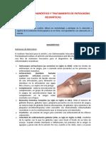 diagnostico de patologias reumatologicas