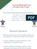 SLU municipal courts study highlights