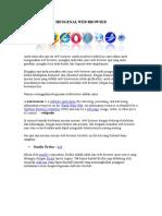 Mengenal Web Browser
