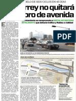23-03-16 Monterrey no quitará semáforo de avenida