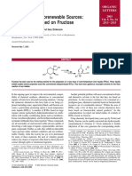 Organic Letters Volume 5 Issue 14 2003 [Doi 10.1021%2Fol034778b] Handy, Scott T.; Okello, Maurice; Dickenson, Gary -- Solvents From Biorenewable Sources- Ionic Liquids Based on Fructose