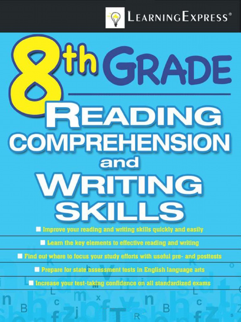 8th Grade Reading Comprehension and Writing Skills | Ecosystem ...
