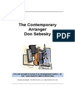 Notes of Don Sebesky