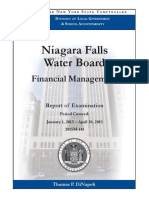 Niagara Falls Water Board audit