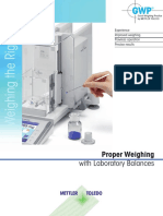 Weighing the Right Way Brochure
