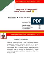 Marketing Program Management -Final Project 040514 (1)