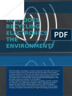 How Does Recycling Electronics Help the Environment