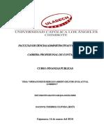 """Operaciones de Mercado Abierto Del BCRP, En El Actual Gobierno"""""""