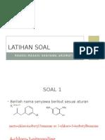 Latihan Soal Reaksi Senyawa Aromatis_aNSWER