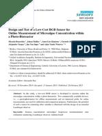 _RGB Sensor for Microalge Growth Measurment