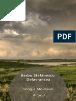 Barbu Stefanescu-Delavrancea - Trilogia Moldovei. Viforul