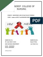 HIV Seminar