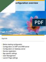 SAP Fiori - Configuration Overview