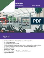 Purple Line Extension Community Presentation 03172016