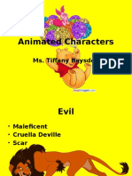 animated characters