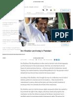Ibn Khaldun and Today's Pakistan Imran Khan Post