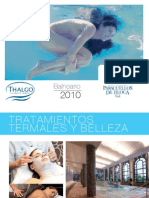 Folleto Tratamientos Termales Balneario 2010