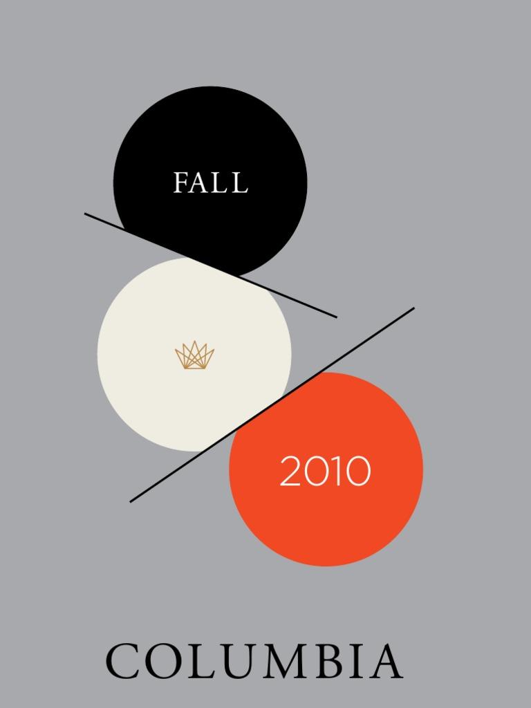 Columbia University Press Catalog Fall 2010  223e9f9da3