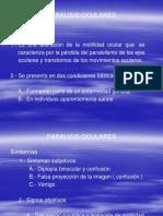 Clase 11 Paralisis Oculares