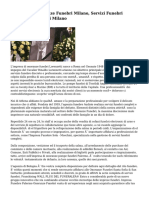 Impresa Di Onoranze Funebri Milano, Servizi Funebri Electronic Funerali Milano