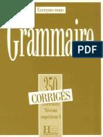 Grammaire Nivel 1 Raspunsuri