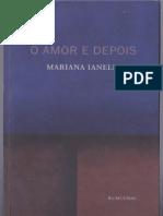 Mariana Ianelli - O Amor e Depois