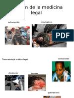 División de La Medicina Legal