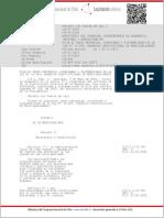 Ley Organica Constitucional de Municipalidades. 18695