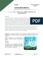 Dosificación y administración de medicamentos