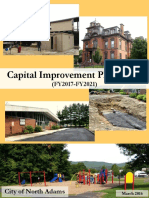 North Adams Capital Improvement Plan FY2017-2021