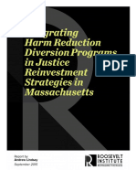 Integrating Pretrial Diversion Programs in Justice Reinvestment Strategies in Massachusetts