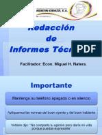 Presentación Curso Redacción de Informes Técnicos
