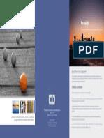 Brochure Conferencistas