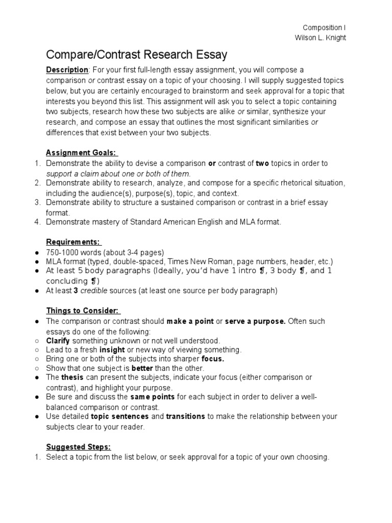 proper compare and contrast essay format Compare and contrast essay for pupils who are going to enter language proficiency tests for college or high school.