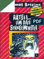Brezina, Thomas - Die Knickerbocker Bande - 01 - Rätsel um das Schneemonster