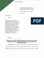 Milich v. UCF et al.