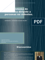 Sistema de Señalética Dirigido a Personas No Videntes.