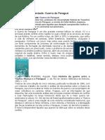 Bibliografia Comentada Guerrq Do Paraguai