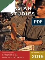 2016 Asian Studies catalog